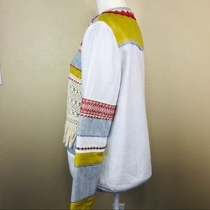 V Cristina Linen Jacket  M